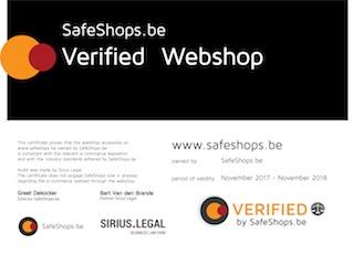 certificaat safeshops